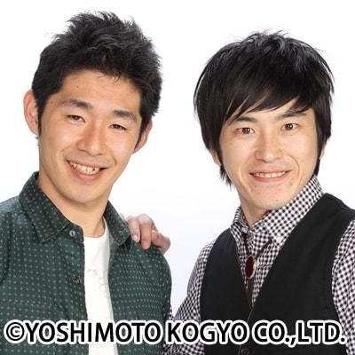 しずる。左が結婚を発表した池田、右が相方の村上。