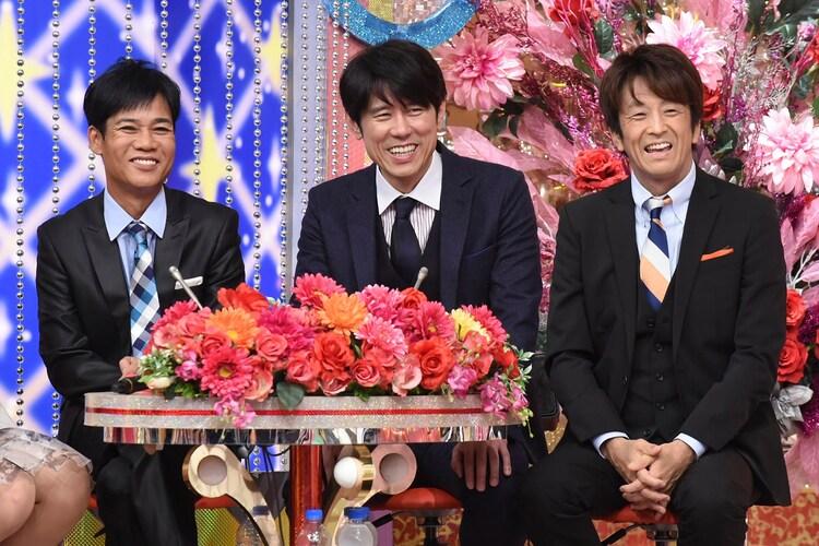 司会のネプチューン 。(c)日本テレビ