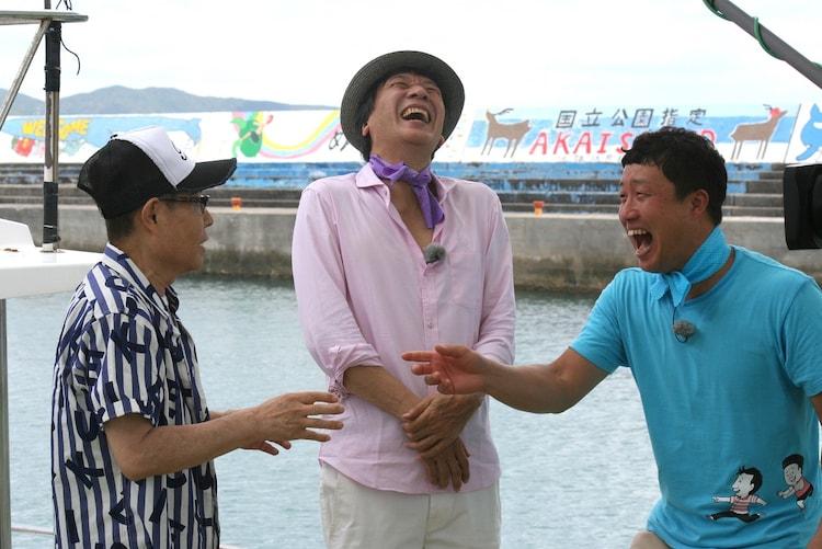 「前川清の笑顔まんてんタビ好キ ~南国・沖縄 離島のタビ~」のワンシーン。(c)KBC