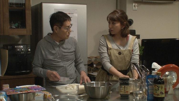 「モシモノふたり」に出演する加藤茶、加藤綾菜夫妻。(c)フジテレビ