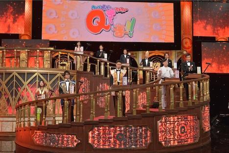 「クイズプレゼンバラエティー Qさま!!」予選Bブロックの出演者。(c)テレビ朝日