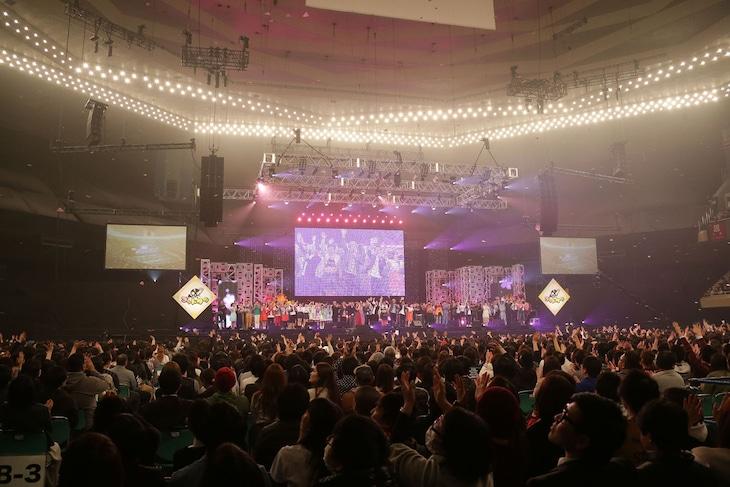 「ゴッドタン マジ歌ライブ2017~マジ武道館~」の様子。(c)テレビ東京