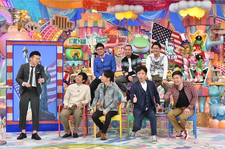 「アメトーーク!」で展開される「さよなら綾部」のワンシーン。(c)テレビ朝日