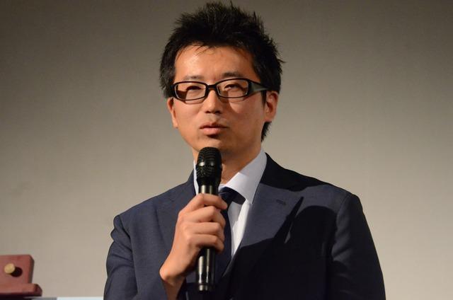 監督の増田哲英。