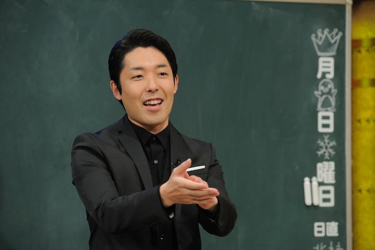 オリエンタルラジオ中田 (c)テレビ朝日