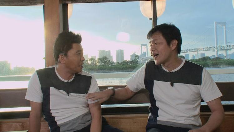 (左から)ホリ、ガリベンズ矢野。(c)中京テレビ