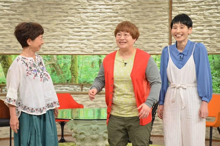 左から阿川佐和子、ハリセンボン。(c)MBS