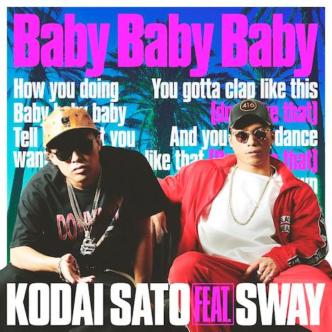 「Baby Baby Baby feat. SWAY」ジャケット
