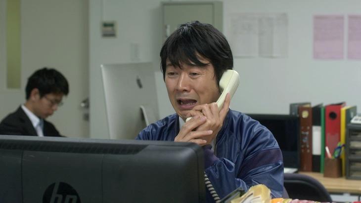 映画「ゆらり」のアキラ100%出演シーン。