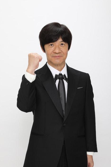 「第68回NHK紅白歌合戦」総合司会の内村光良。(c)NHK