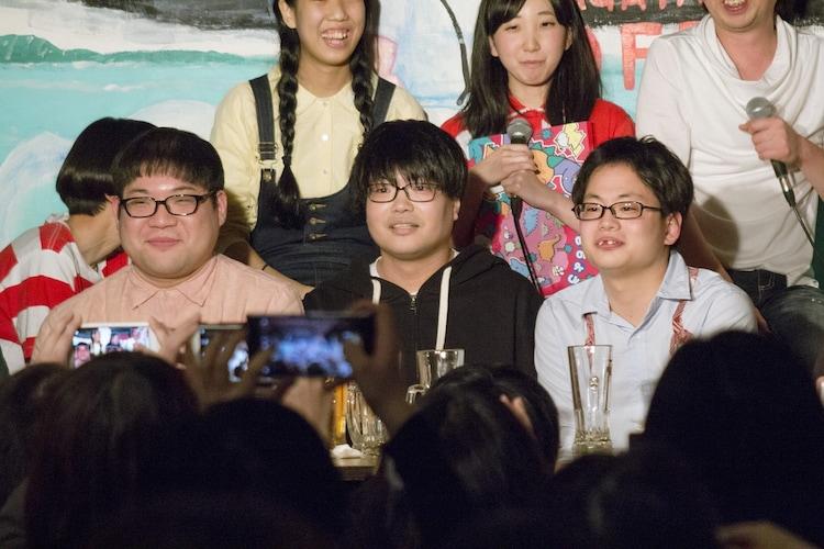 「TBC(東京ブサイクコレクション)in阿佐ヶ谷part2 ~2017ブサイク納め~」のワンシーン。