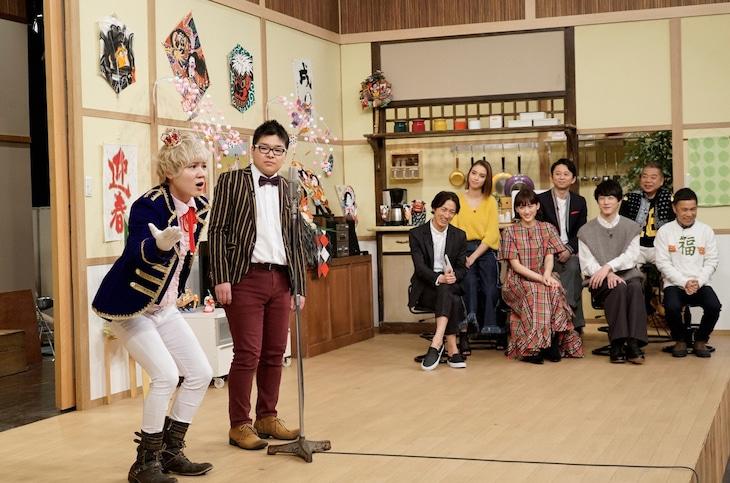 「ぐるナイ おもしろ荘 若手にチャンスを頂戴 今年も誰か売れてSP」のワンシーン。(c)日本テレビ