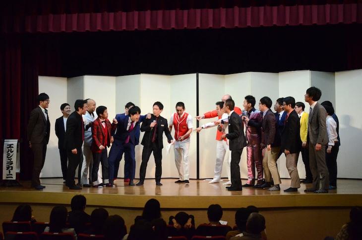 清和漫才協会のメンバーは漫才協会若手五つ星にリベンジを要求した。