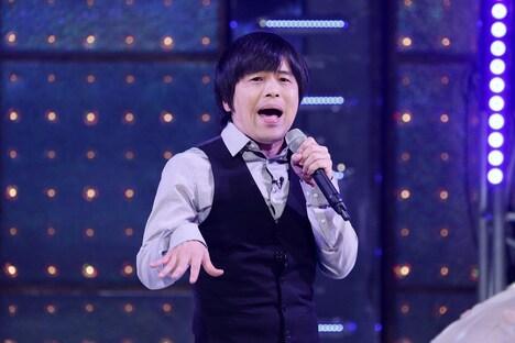 「ゴッドタン新春SP 芸人マジ歌選手権」より、バカリズム。(c)テレビ東京