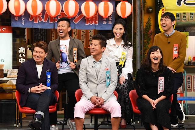 関西以外出身のゲストたち。(c)関西テレビ