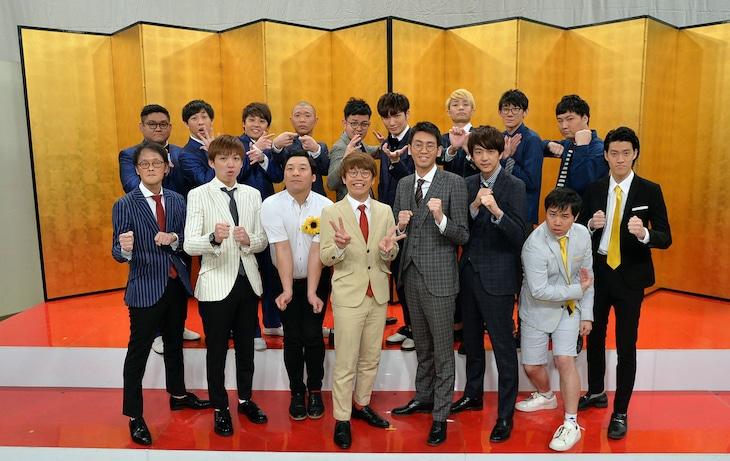 「第48回NHK上方漫才コンテスト」本選出場者 (c)NHK