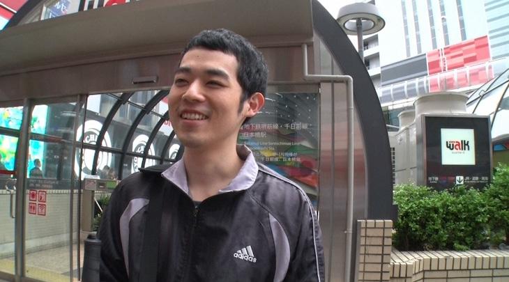 「密着ビビット」に登場する、濱田祐太郎。(c)TBS