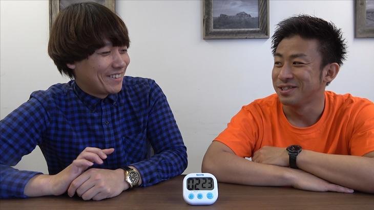 「チーモンチョーチュウチャンネル」で公開される動画のワンシーン。