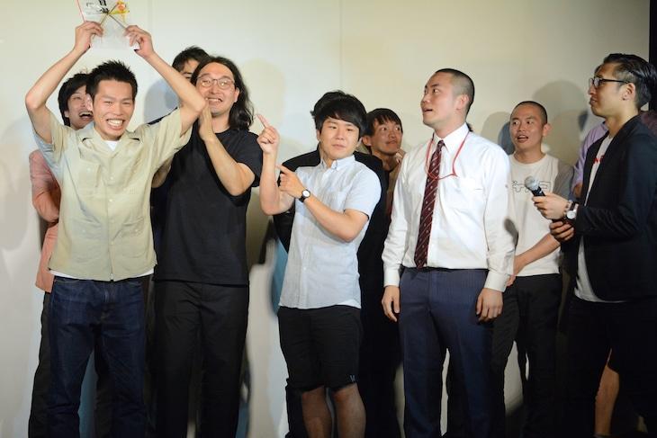 「おかが屋ひろき」が優勝した瞬間。