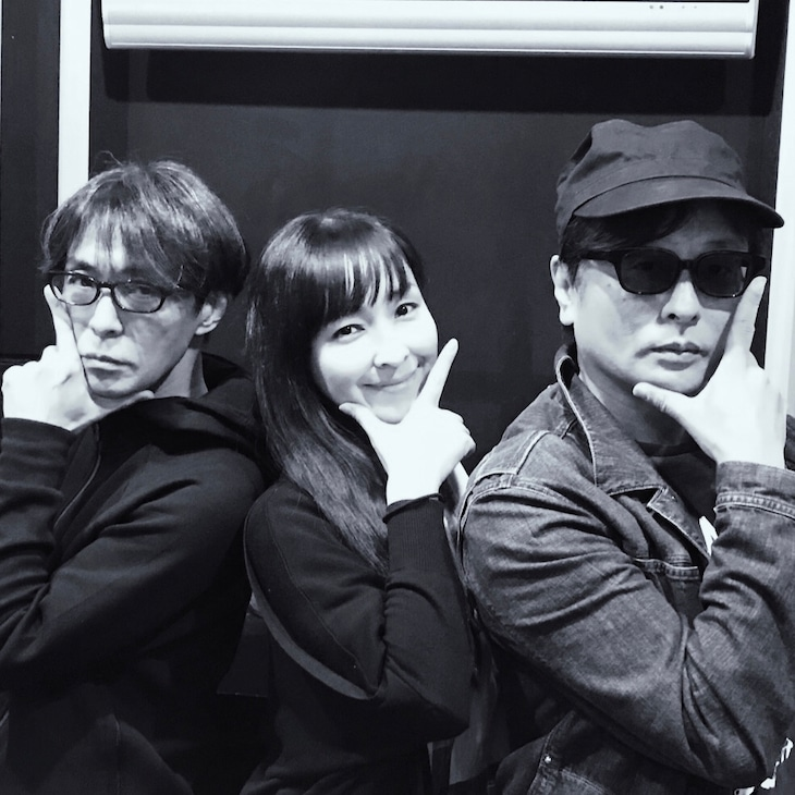 砂原良徳、麻生久美子、TOWA TEI。