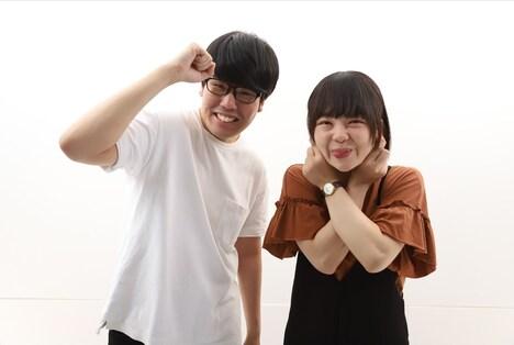 「第39回ABCお笑いグランプリ」決勝に進出する蛙亭。(c)ABC
