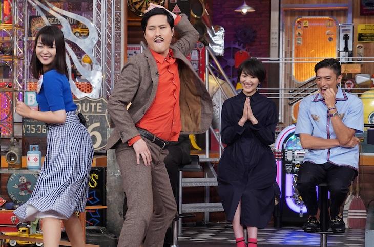 「ウチのガヤがすみません!芸人VS○○の超本気対決SP!」のワンシーン。(c)日本テレビ
