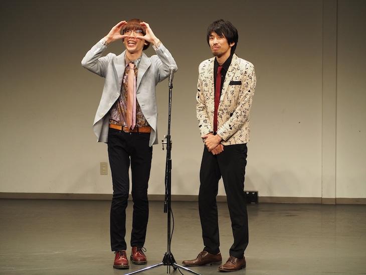 真空ジェシカの初単独ライブ「犬の整形の立会い」のワンシーン。(c)テレビ朝日