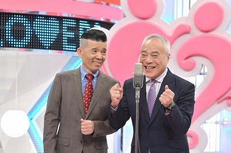 西川のりお・上方よしお (c)読売テレビ
