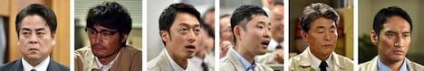 「日曜劇場『下町ロケット』」に出演する、立川談春(左端)、今野浩喜(右から3人目)ら。(c)TBS