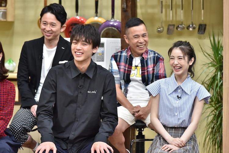 「ぐるナイ おもしろ荘 この夏ブレークする芸人が生放送で決定SP!」のワンシーン。(c)NTV