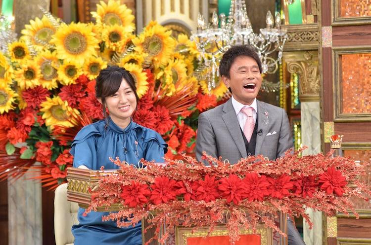 コミッショナーの浜田雅功(右)。(c)MBS