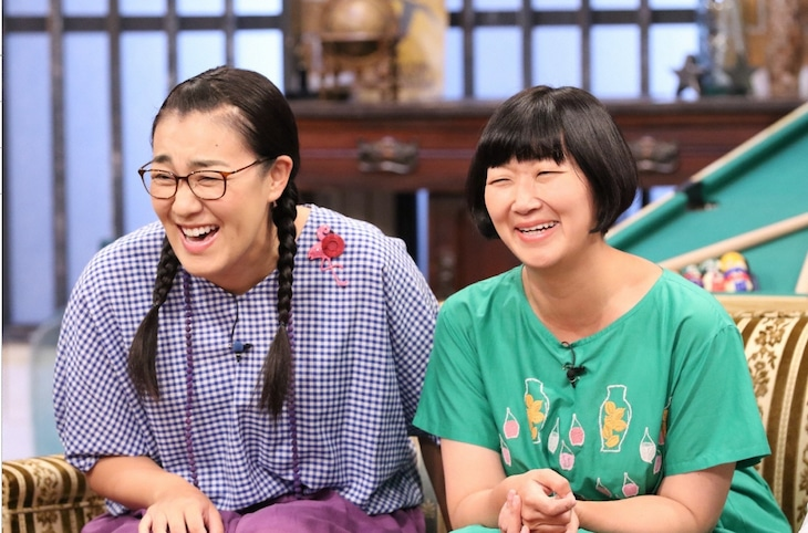 「関ジャニ∞のジャニ勉」に出演する、たんぽぽ。(c)関西テレビ