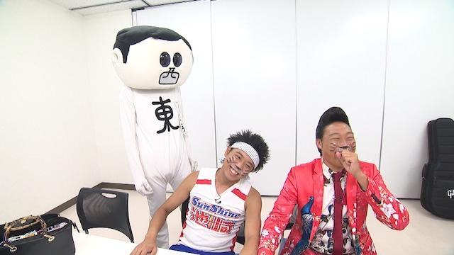 「第2回 常滑お笑いEXPO in 知多半島」の様子を伝える「前略、西東さん」のワンシーン。(c)中京テレビ