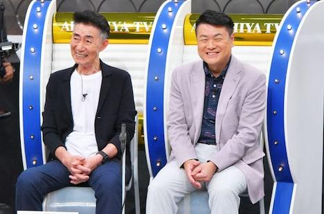 よゐこ濱口の父・濱口克己さん(左)、菅田将暉の父・菅生新さん(右)。