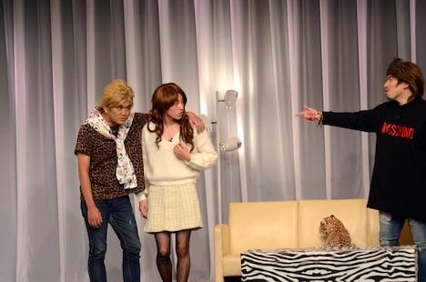 平成ノブシコブシ徳井が参加したコント「カップル」。