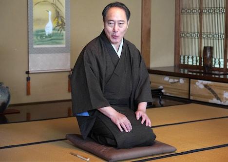 佐野史郎演じる三遊亭圓生。