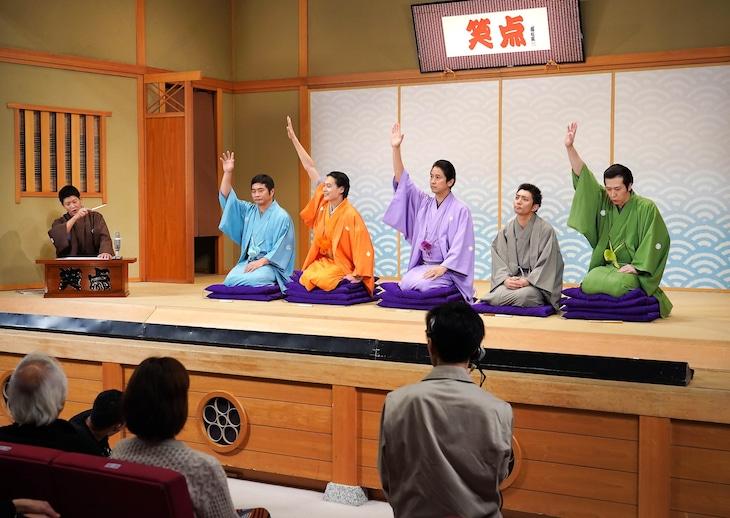ドラマ「BS笑点ドラマスペシャル 五代目三遊亭圓楽」より。