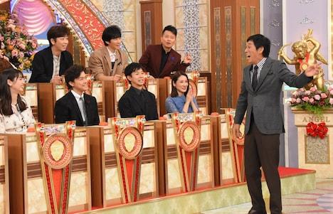 「誰も知らない明石家さんま3時間SP初密着!さんま5つの謎を解禁!」のワンシーン。(c)日本テレビ系