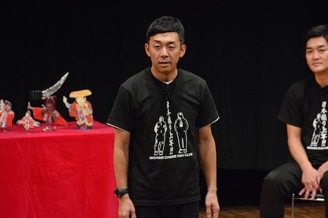 締めのコメントを任された天津・木村。