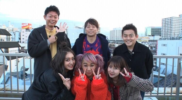 「開運ツアー 2019年幸せになりたい女たち」の参加者たち。(c)日本テレビ