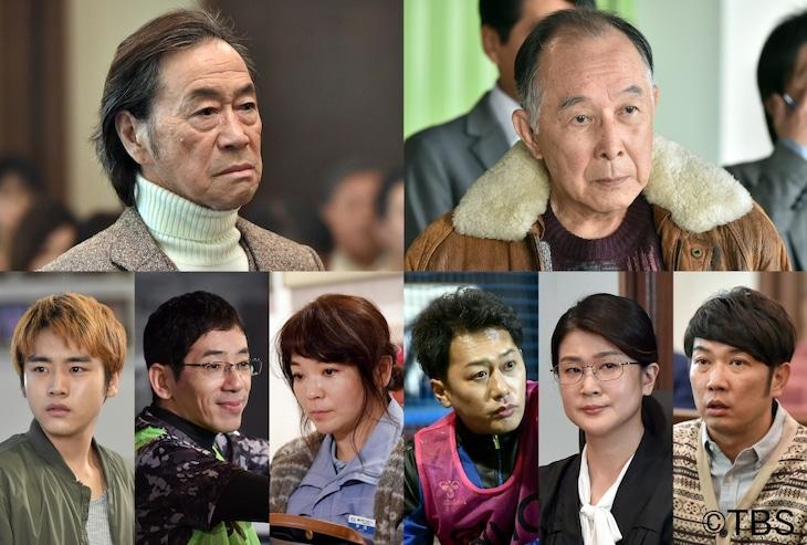 連続ドラマ「日曜劇場『グッドワイフ』」第1話と第2話のゲスト出演者たち。