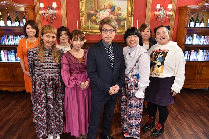 「THE 的中王2019」の出演者たち。(c)中京テレビ