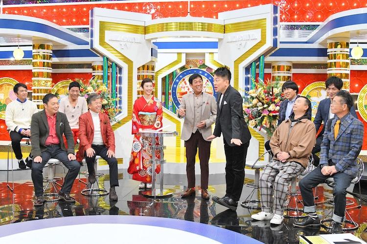 「痛快!明石家電視台正月SP~2018年アンハッピーだった人大集合~」のワンシーン。(c)MBS