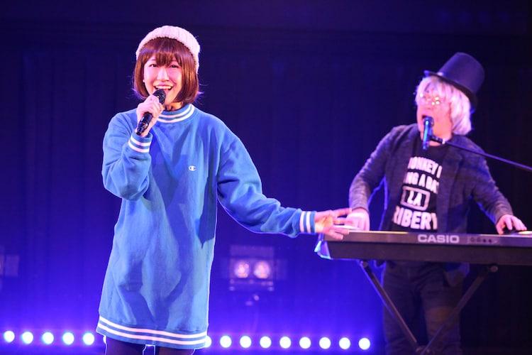 天津・向と桜 稲垣早希のユニット・ムカサキ。
