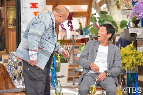 (左から)笑福亭鶴瓶、明石家さんま。