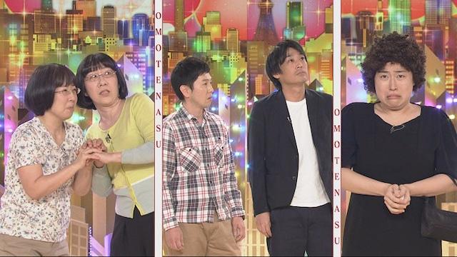 左から阿佐ヶ谷姉妹、フルーツポンチ、丸山礼。(c)NHK