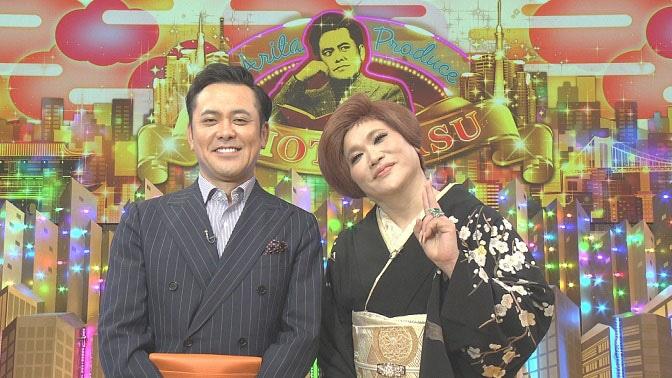 有田P(左)とゲストのIKKO(右)。(c)NHK