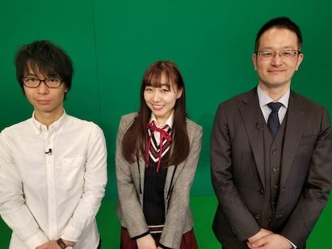 (左から)ブロードキャスト!!房野、須田亜香里、伊藤賀一氏。(c)中京テレビ