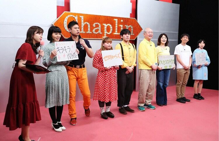 「男女コンビネタ祭り」に参加する芸人たち。