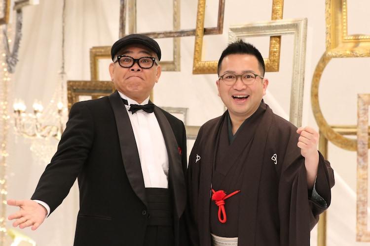 (左から)兵動大樹、桂吉弥。(c)関西テレビ